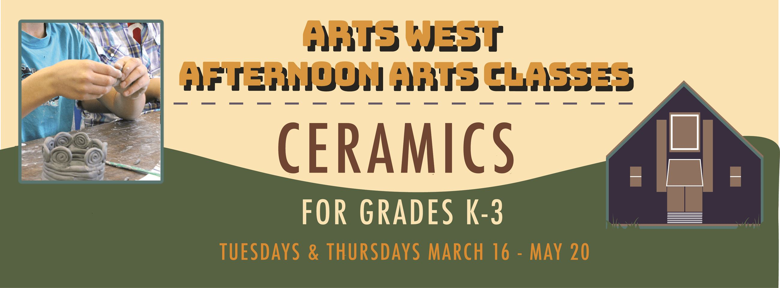 Afternoon Arts Ceramics FBanner