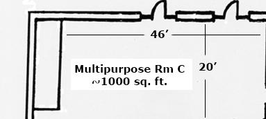 Multipurpose room A
